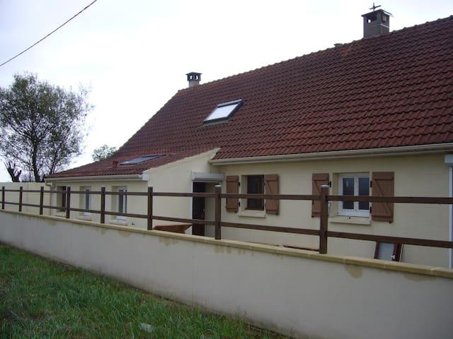 maison avec jardin arboré a la campagne - Coudekerque-Village - Casa