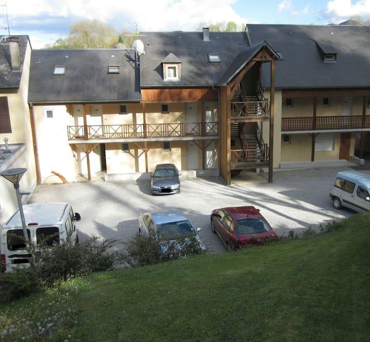 studio de qualité,résidence calme,parking privé