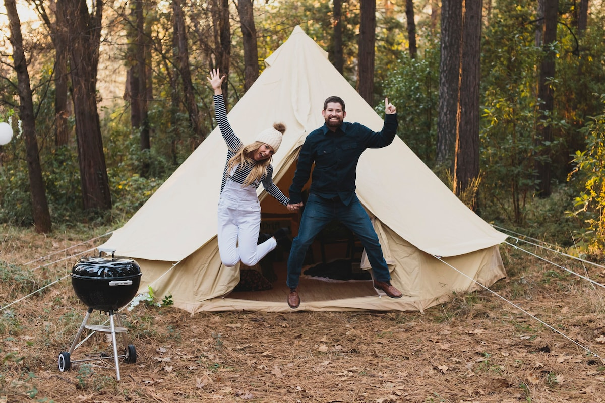 Drift Outdoors A Luxury C&ing Company Tent #3 - Tents for Rent in Nevada City California United States  sc 1 st  Airbnb & Drift Outdoors A Luxury Camping Company Tent #3 - Tents for Rent ...