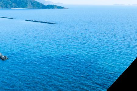 富海の藍染工房で瀬戸内の食材と歴史を臨む旅をする。