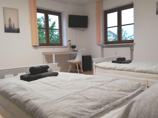 Privates Doppelzimmer Nähe Erding und München