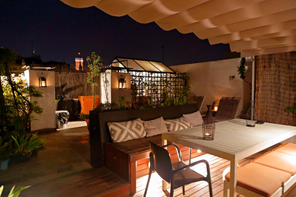 Penthouse with stunning balcony near plaza mayor lofts - The penthouse madrid ...