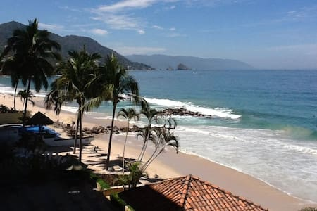 Ocean Front Condo/Pool On the Sand! - Puerto Vallarta