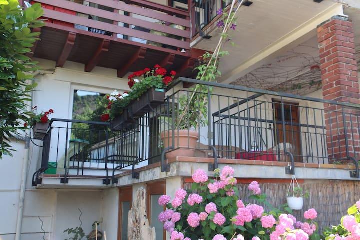 Wohnung mit Terrasse