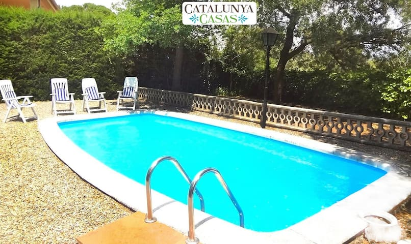 Catalunya Casas: Cozy rural villa in Arbrells for 6 guests,  just 25km from Barcelona!