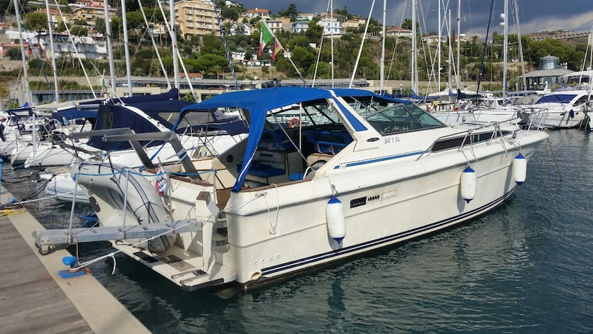 Hausboot Wohnung am Meer nahe Sanremo - San Lorenzo al Mare