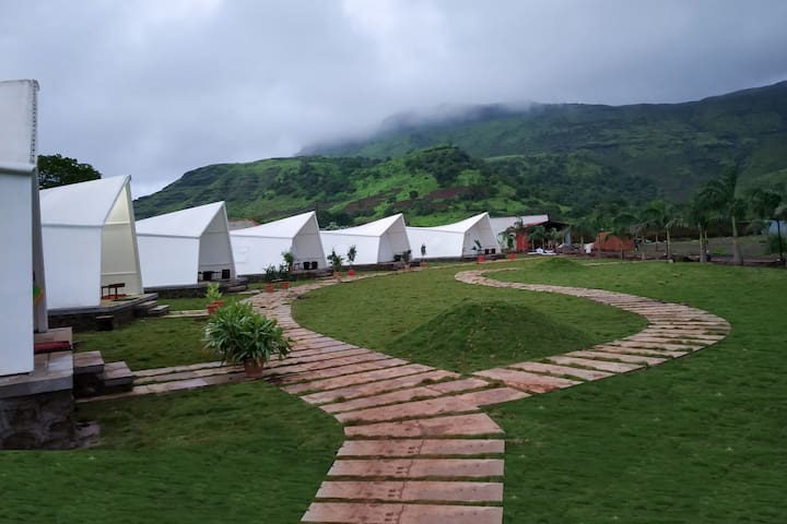 Group Tent Stay in Beautiful Igatpuri Mountains