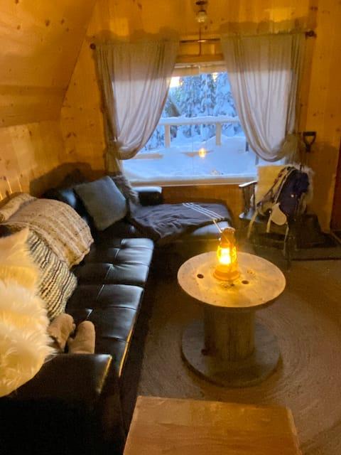 Hudson Bay Mountain ski cabin