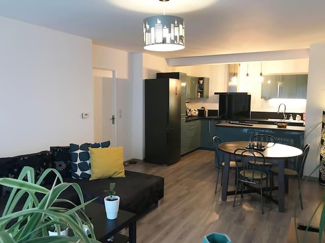 Appartement T3 de 70m2 situé à Lille