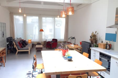 Amazing architect-designed loft Paris Anvers 70m2 - Parigi - Loft