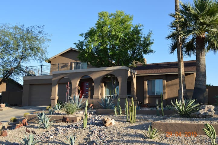 North Phoenix on the Desert Preserve