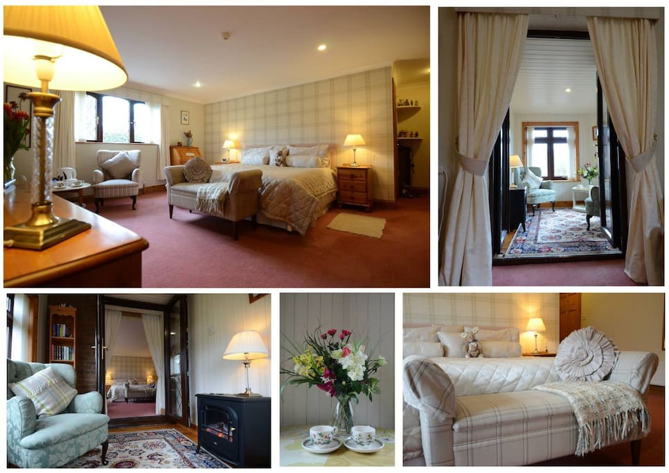 Collage of the Meadow Suite