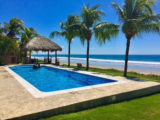 Private Beachfront Surf Villa in Hacienda Iguana