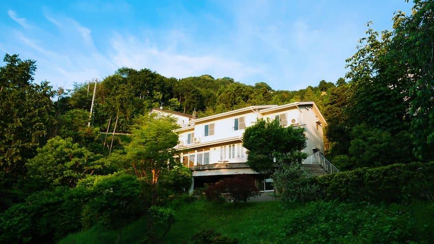 猿楽温泉リゾート(温泉庄园)180°豪华日式海景套房(6人间)