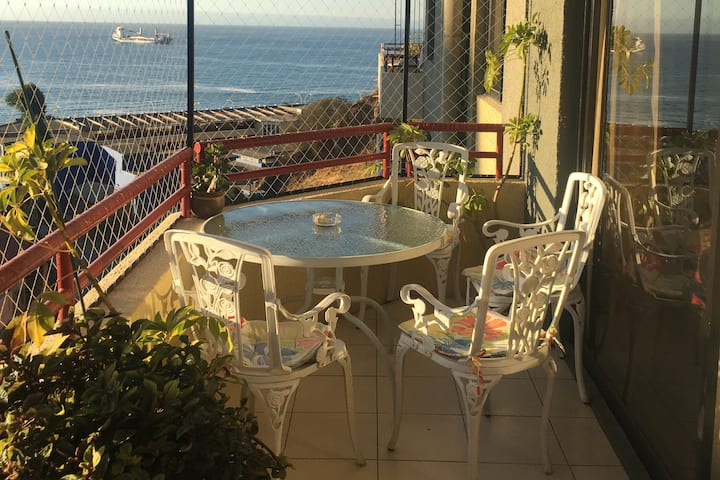 Double Bedroom on Central Apartment, Viña del Mar