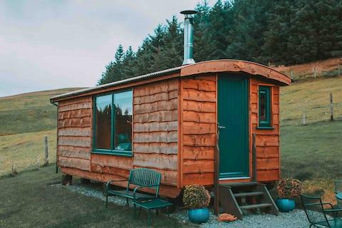Family Shepherd Hut, Glamping experience.