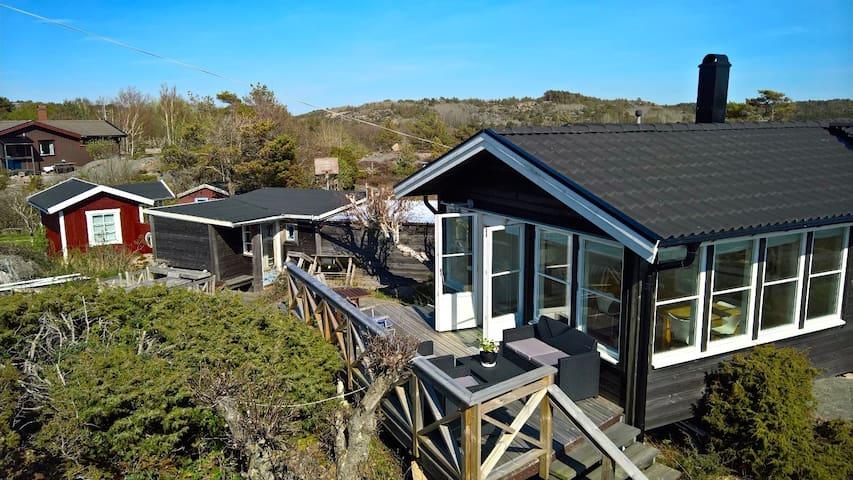 Härligt hus nära bad och Fjällbacka - Fjällbacka - Huis
