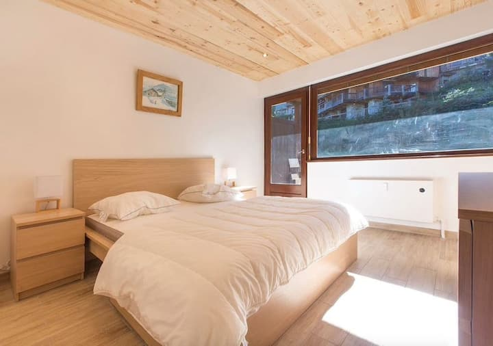 Comfortable with Balcony in Megève! #RELAX5