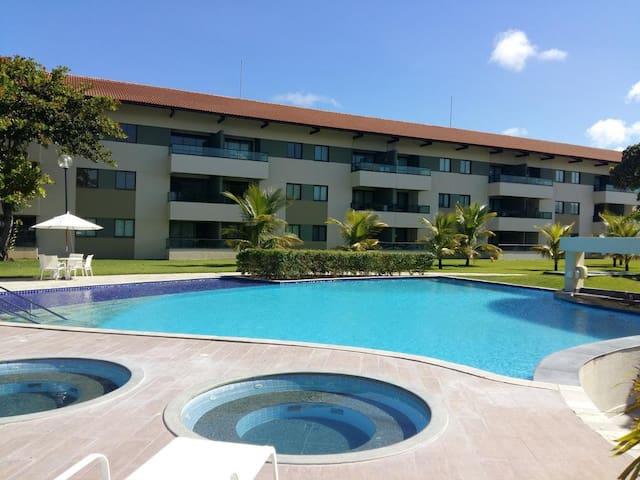 Carneiros Beach Resort - Flat com 2 quartos (306C)