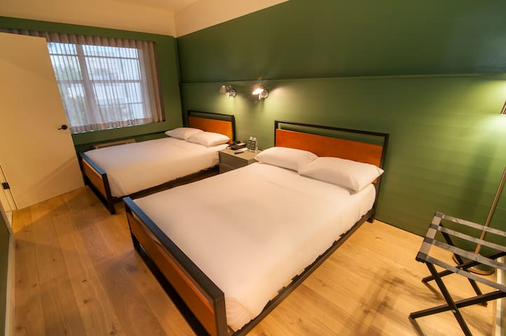 Greenview Hotel in South Beach, Two Double Beds