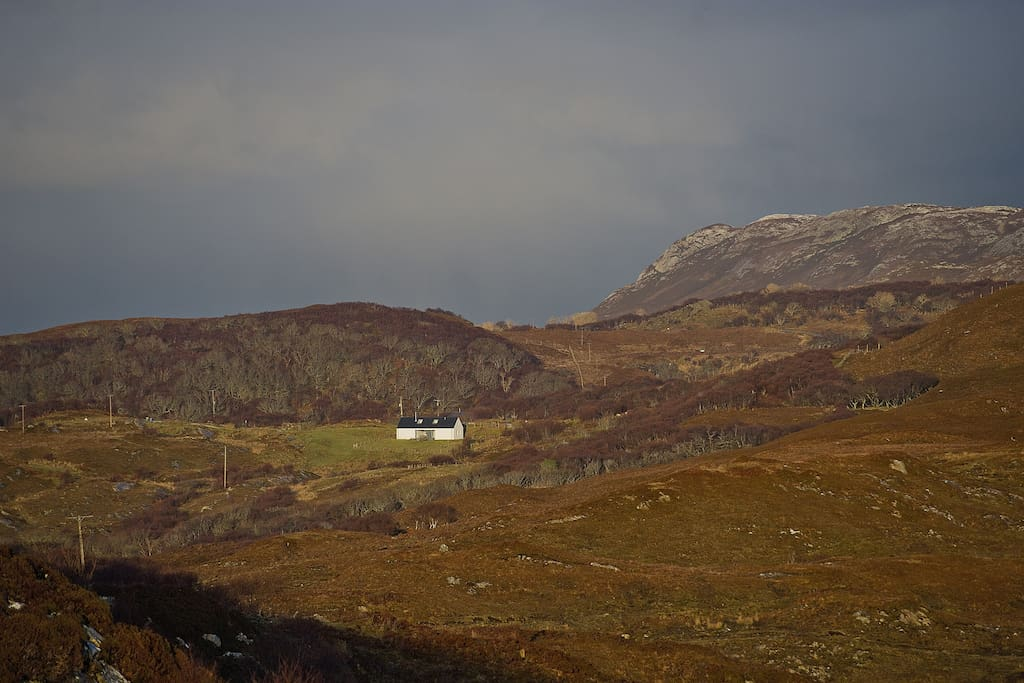 The Longhouse at Tokavaig. Perfect isolation...