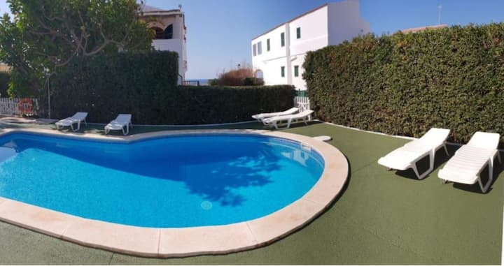 "Beautiful Holiday Apartment ""Apartamento Delfín 2"" with Pool, Terrace & WiFi; Parking Available in the Street"