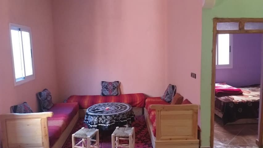 Welcome to our  homestay in desert MerzougaRooms
