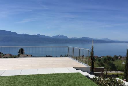 Ravissant studio vue lac sur Lutry/Lausanne - Lutry