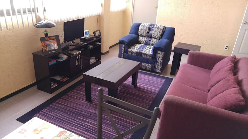 Beautiful apartment with nice view - Toluca de Lerdo - Appartement