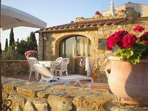 panoram. villa on the chianti hills Casa Gabriella