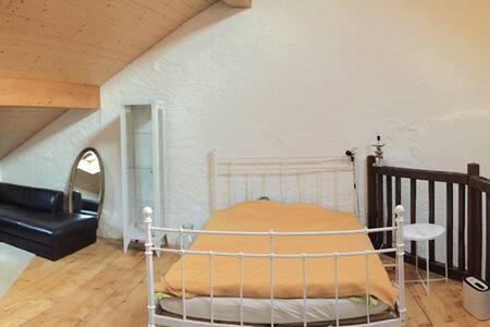Chambre 40m2 avec petit salon et bureau