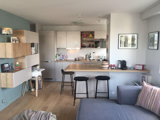 Appartement lumineux proche Denfert-Rochereau