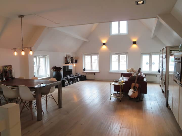 Loft in Centre of Haarlem, 15 min from Amsterdam