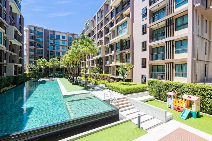 Zcape3 Condo 1 - Bedroom near Central Phuket