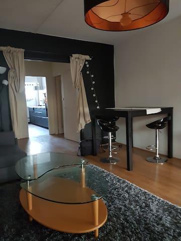 Chambre dans appartement + terrasse
