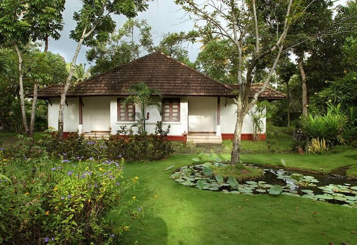 Tranquil Beach Villa at Turtle Beach- Marari