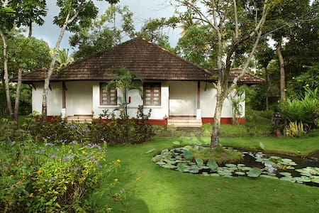 Tranquil Beach Villa at Turtle Beach- Marari