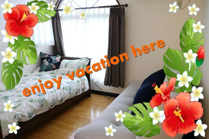 Room②/resort & relax / 2 guests