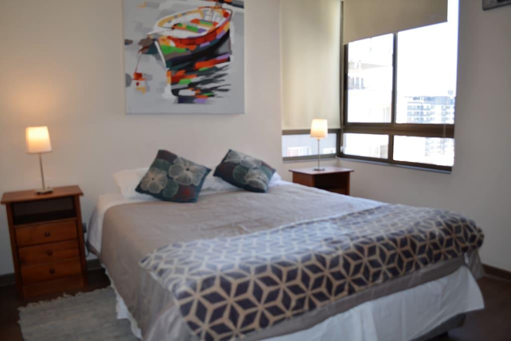 Cómoda y elegante cama
