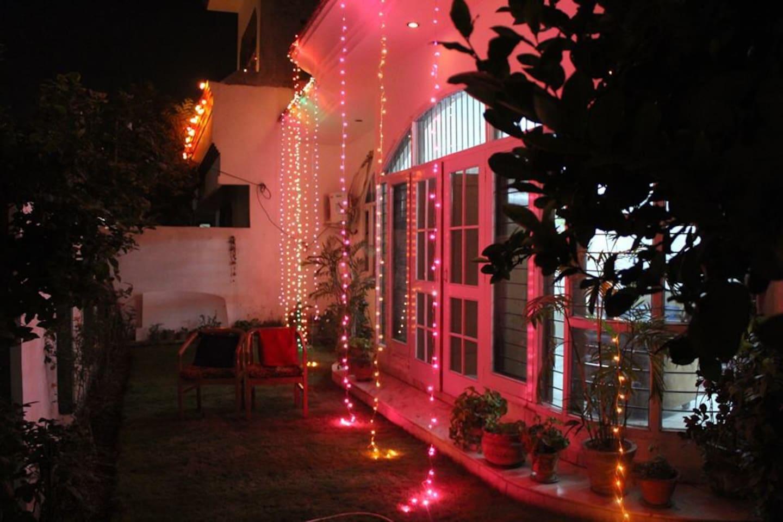 Lights, celebrations - home