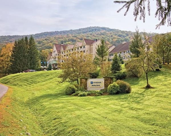 Bentley Brook Ski In/ Ski Out 2 bedroom Condo