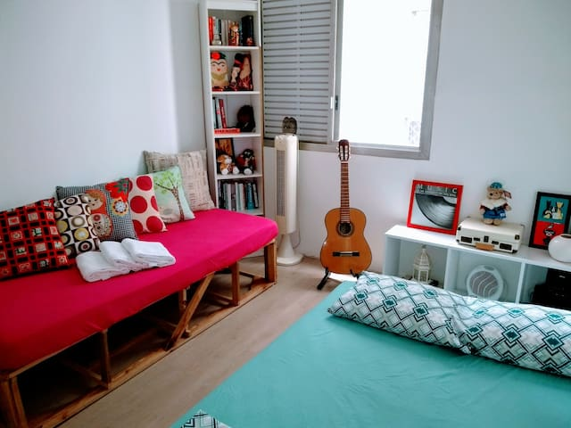 Cozy Private Room in Pinheiros