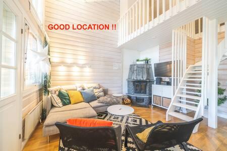 ***** Design Cottage in Nilsiä, Tahkovuori*****