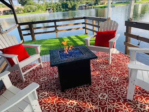 NEW Relaxing Lake House on Harris Chain of Lakes!
