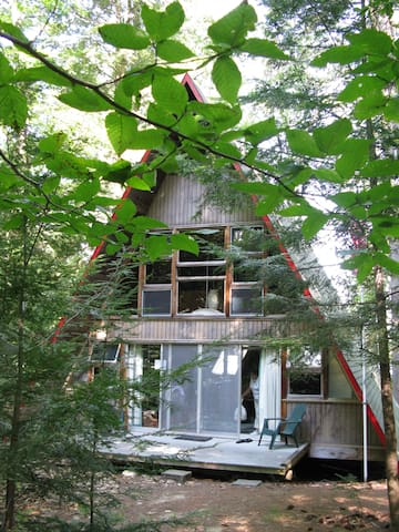 Rustic charm on Squam lake - Center Harbor - Haus