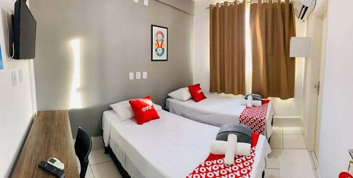 Hotel!! 217Setor Bueno  COM CAFÉ DA MANHÃ