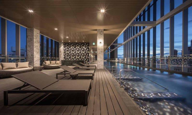 G(P24)Luxury Studio B sky pool heart of Bangkok