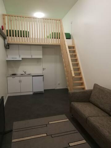 Fräsch studio i Stockholm vid Arlanda & Sigtuna 2