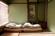 Japanese Style Twin Room In Classic Japanese House