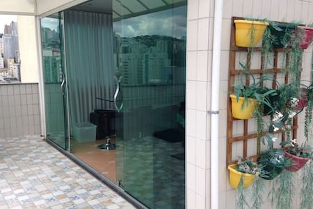 Private open area next to downtown (pets allowed) - Belo Horizonte - Wohnung